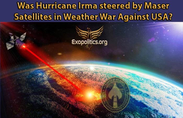 Hurricane Irma Weather War