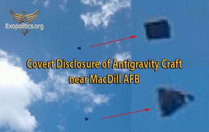 Covert Disclosure of Rectangle & Triangle UFOs near MacDill