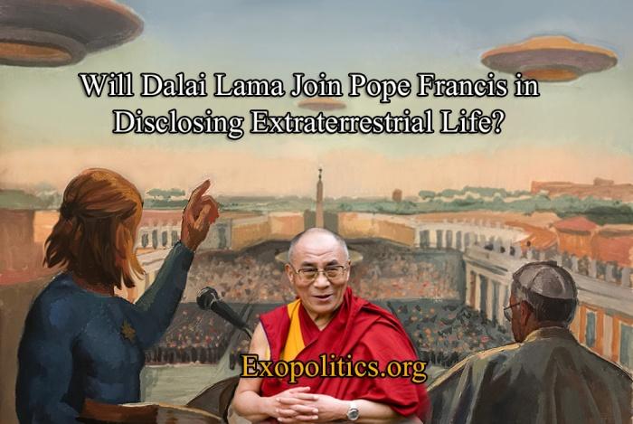 Dalai Lama Pope Francis Nordics