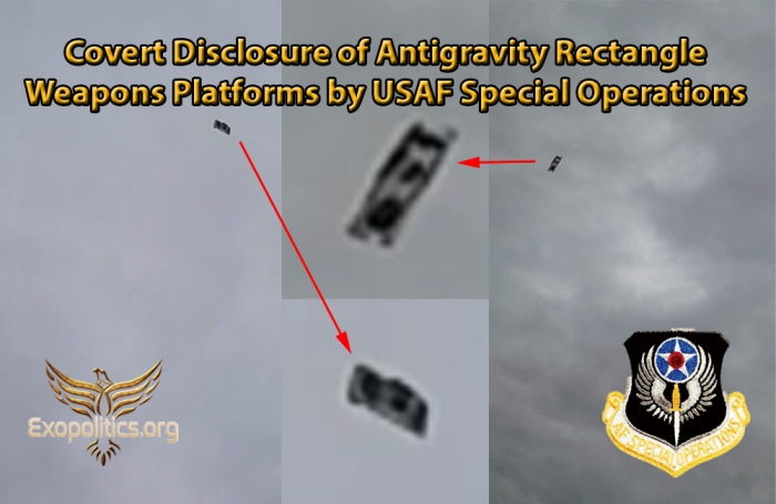 Flying Rectangle Platforms Sanctioned Disclosure