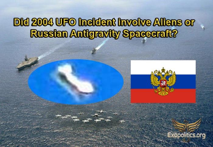 Nimitz UFO Russia