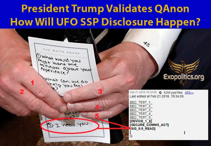 Q Post Trump Notes and Code