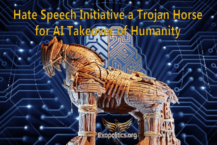 Hate Speech a Trojan Horse for AI Takeover