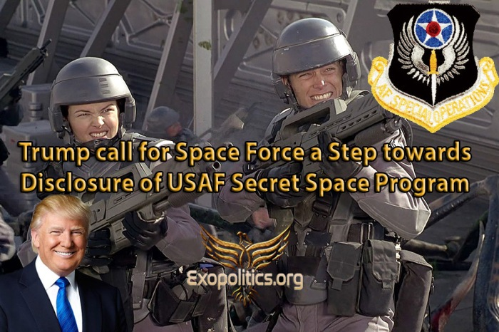 Trump Call for Space Corps