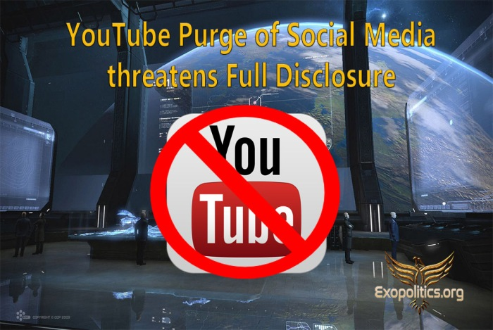 Youtube Purge of Social Media