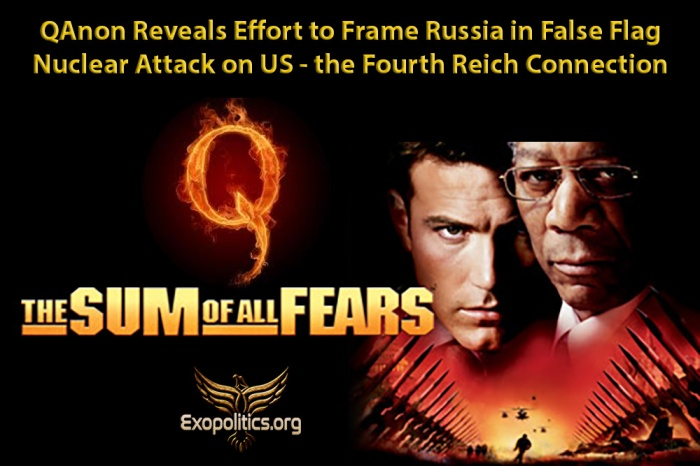 QAnon Reveals Effort to Frame Russia False Flag Attack