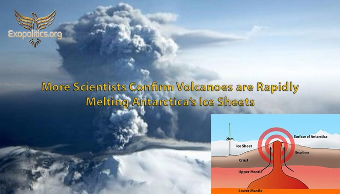 More Scientists Confirm Antarctic volcanoes melting ice