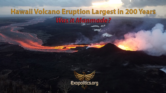 Hawaii Eruption largest in 200 years