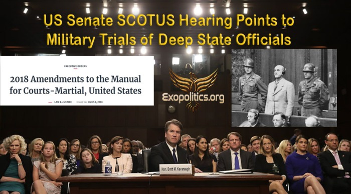 US Senate Scotus Hearing Military Trials