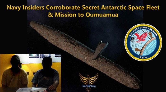 Navy Insiders Space Fleet & Oumuamua Mission