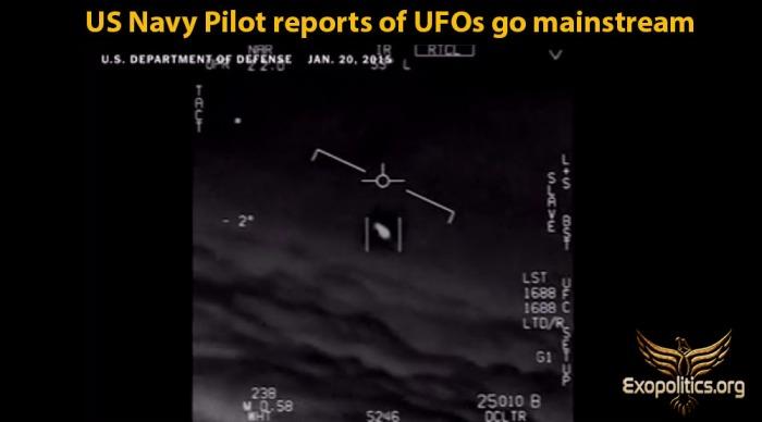 US Navy Pilot Reports go Mainstream