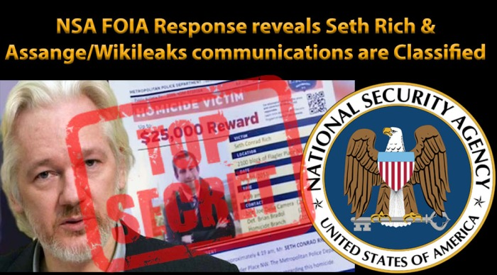 NSA Response Assange Seth Rich