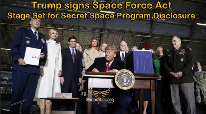 Trump signs Space Force Act