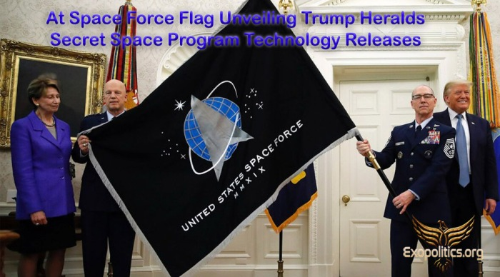 Space Force Flag Unveiling and Trump SSP Disclosure