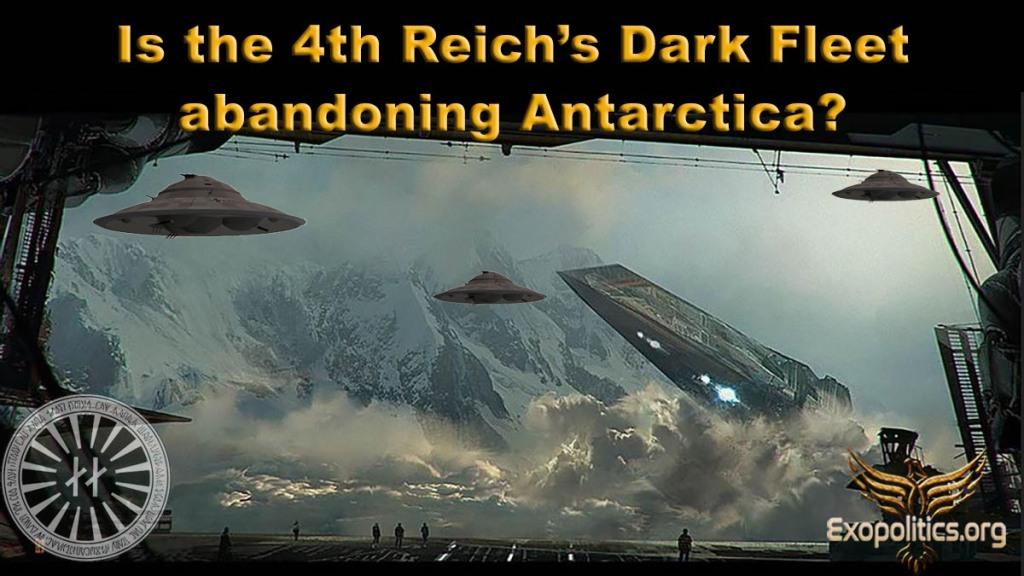 Is the 4th Reich's Dark Fleet abandoning Antarctica?